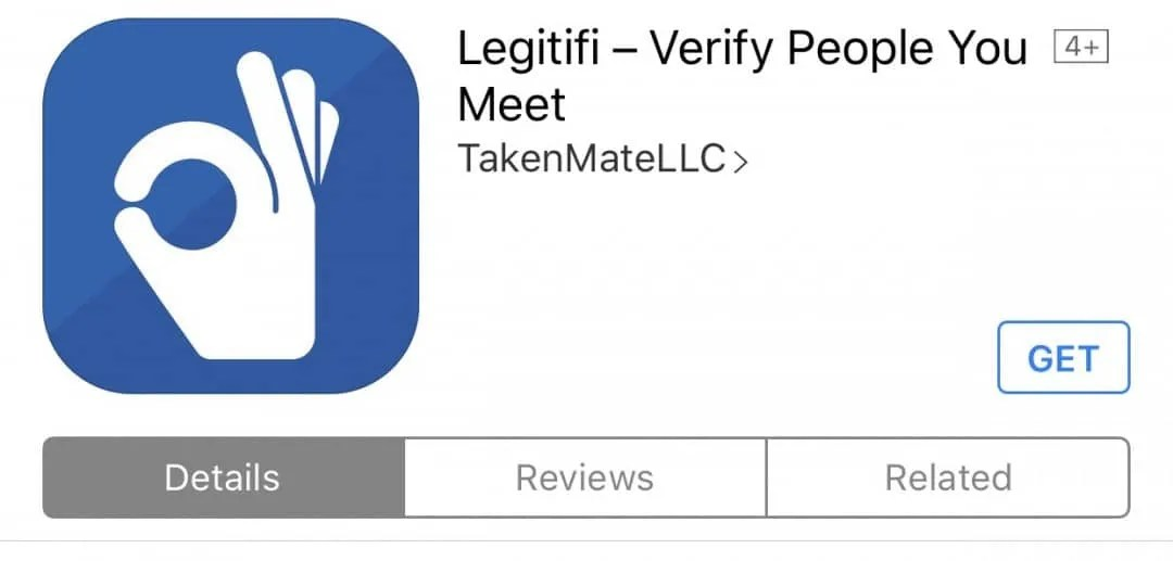Legitifi App REVIEW Create a profile to prove to others you are you.