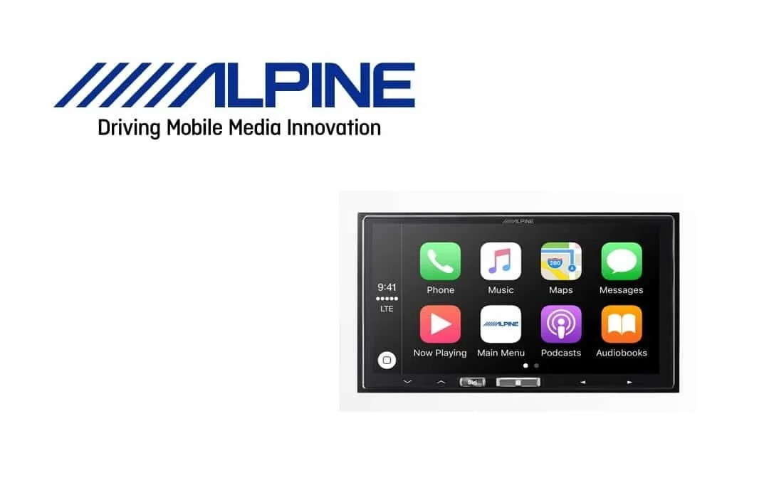 Alpine Wireless CarPlay System Now Available NEWS
