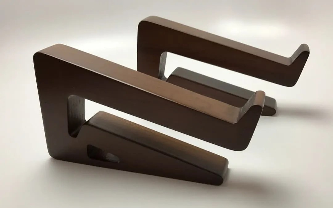 Galen Leather Walnut Wood MacBook Pro Stand REVIEW