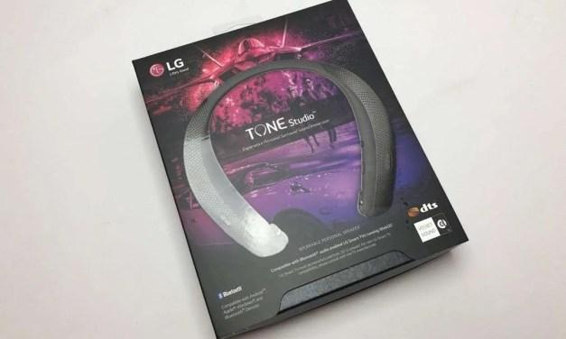 LG Tone Studio Wearable Personal Speaker REVIEW