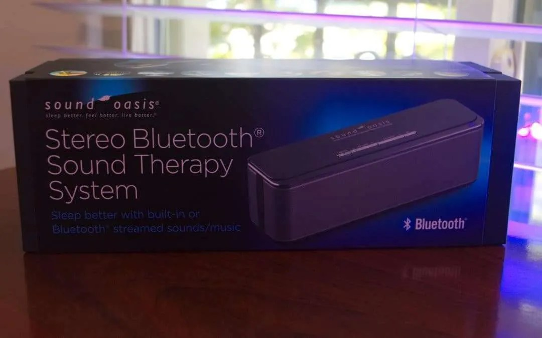 Sound Oasis BST-400 Stereo Bluetooth Sound Therapy REVIEW Sleep Better with Sound