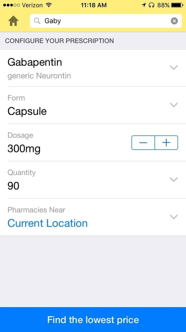 Good RX iOS App REVIEW