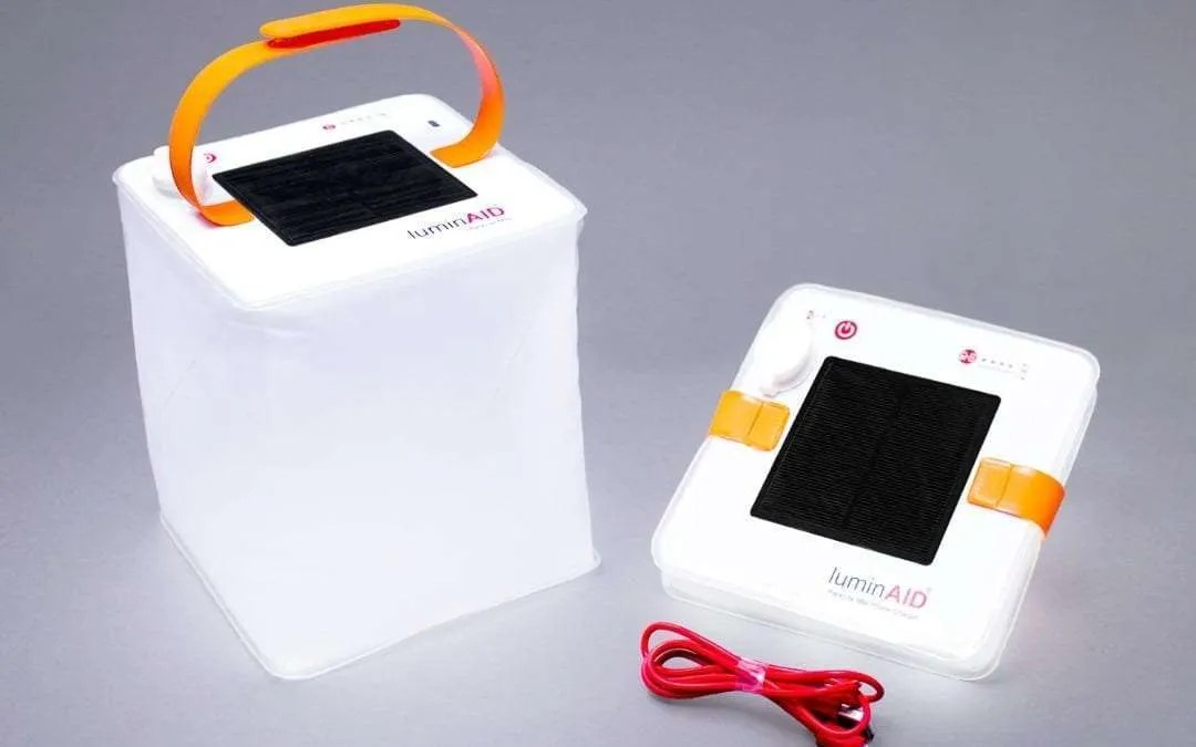 "LuminAID PackLite Max Solar Phone Charger: The Next ""Bright Idea"" at a convenient time"