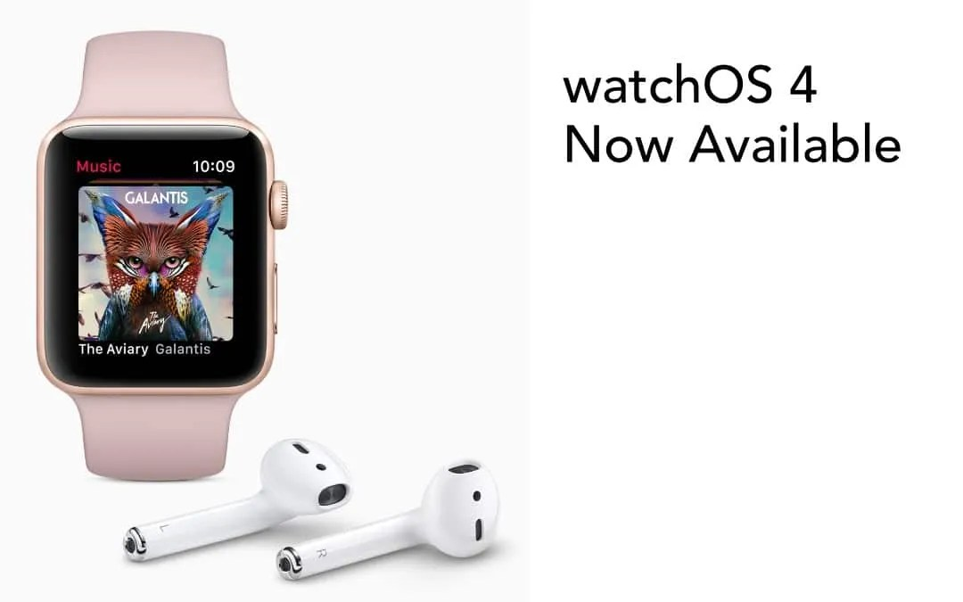 watchOS 4 Now Available from Apple NEWS