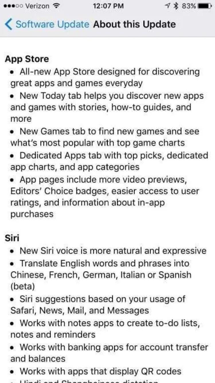 iOS 11 NEWS