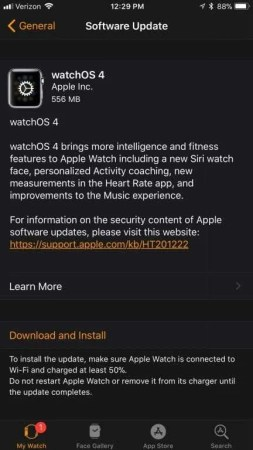 watchOS 4 NEWS