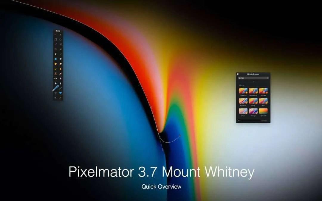 Pixelmator 3.7 Now Available NEWS