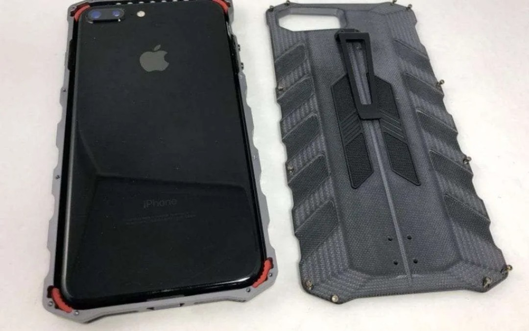 buy online 371a9 b6097 M7 ELEMENTCASE REVIEW Armor for your iPhone 7/8 Plus. | Mac Sources