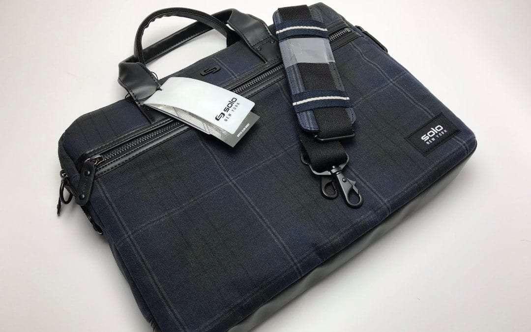 abc08024f5e8 SOLO Bryce Slim Brief 15.6 Laptop Messenger Bag REVIEW