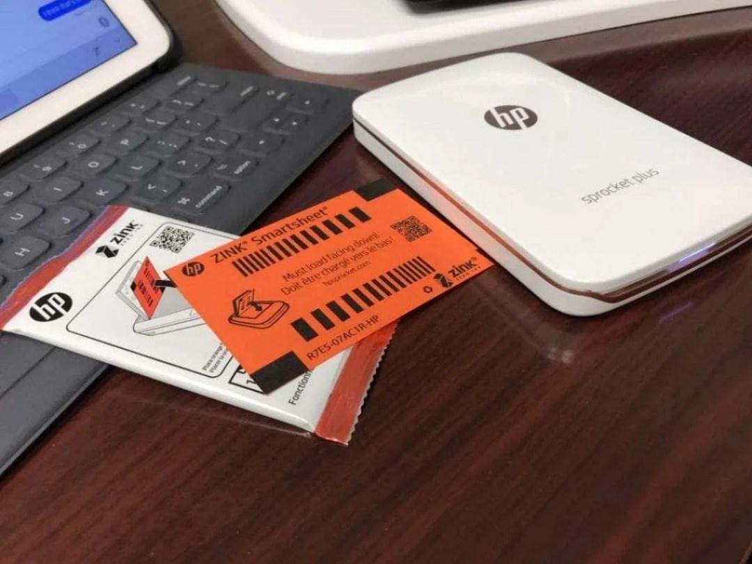 HP Sprocket Plus Mobile Photo Printer REVIEW