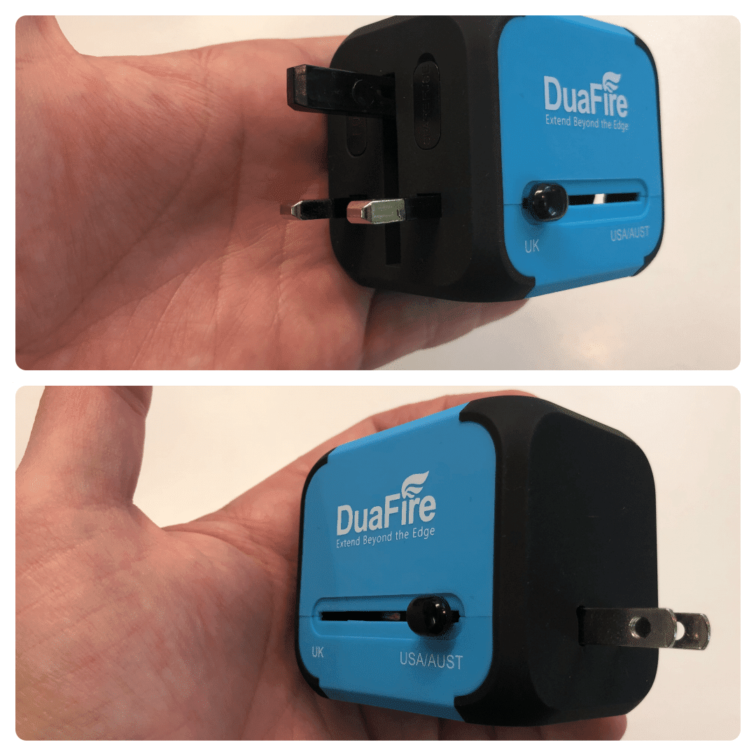 DuaFire Travel Adapter