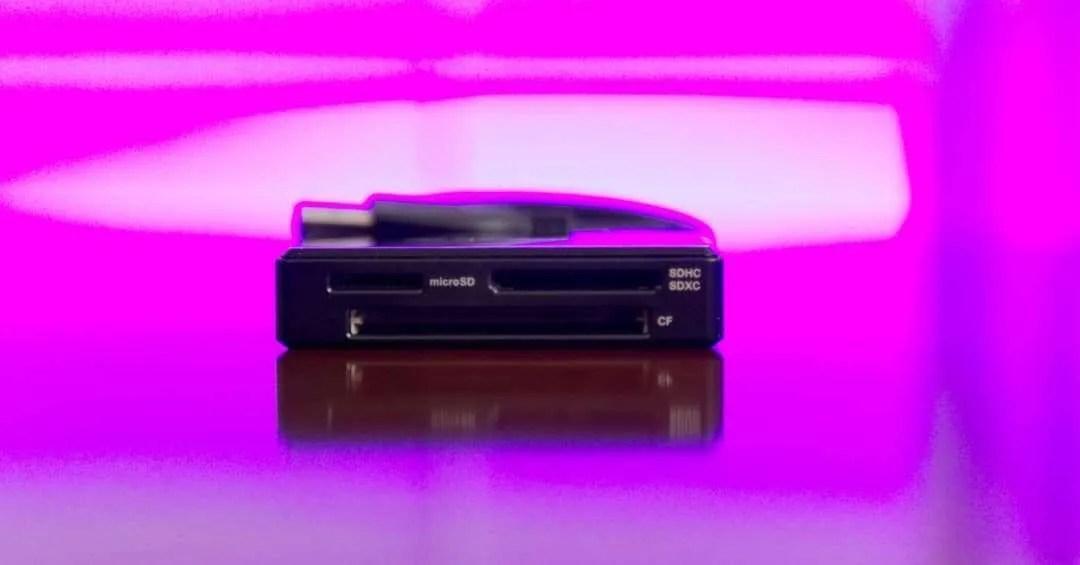 Transcend RDF8K USB 3.0 Super Speed Multi-Card Reader REVIEW
