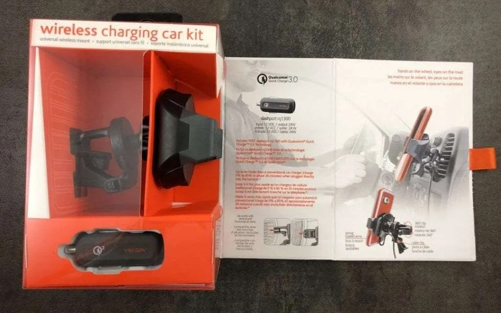 Ventev Wireless Charging Car Kit REVIEW Brings Fast Wireless Charging to Your Car