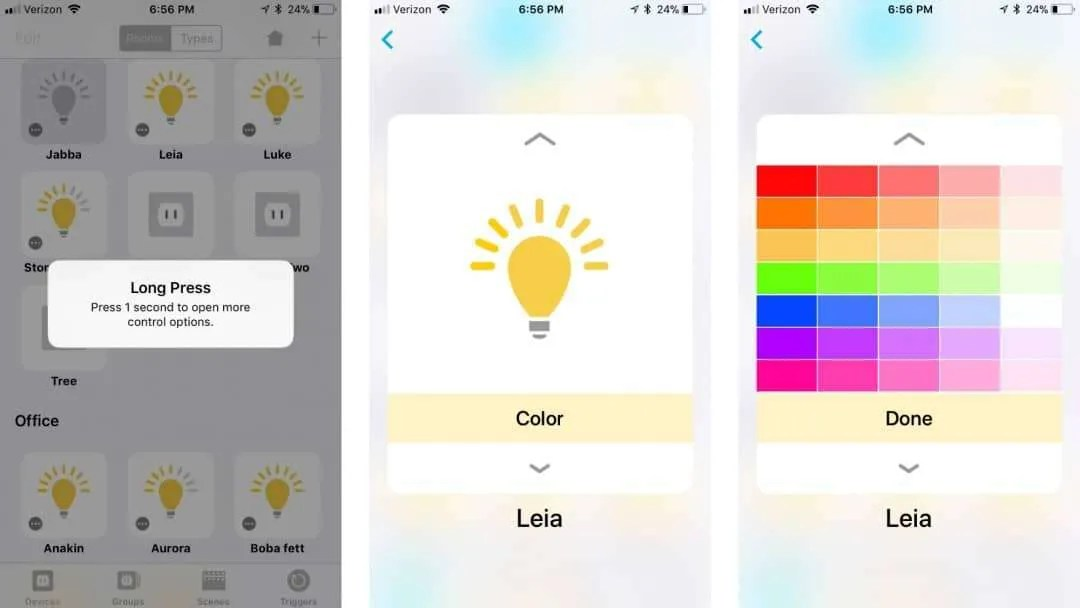 Devices iOS HomeKit App from LinkDesk REVIEW
