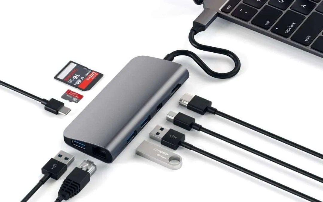 Satechi's Aluminum Type-C Multimedia Adapter Launched NEWS