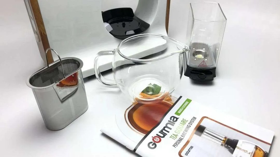 Gourmia Fusion Tea Loose Leaf Tea Maker REVIEW