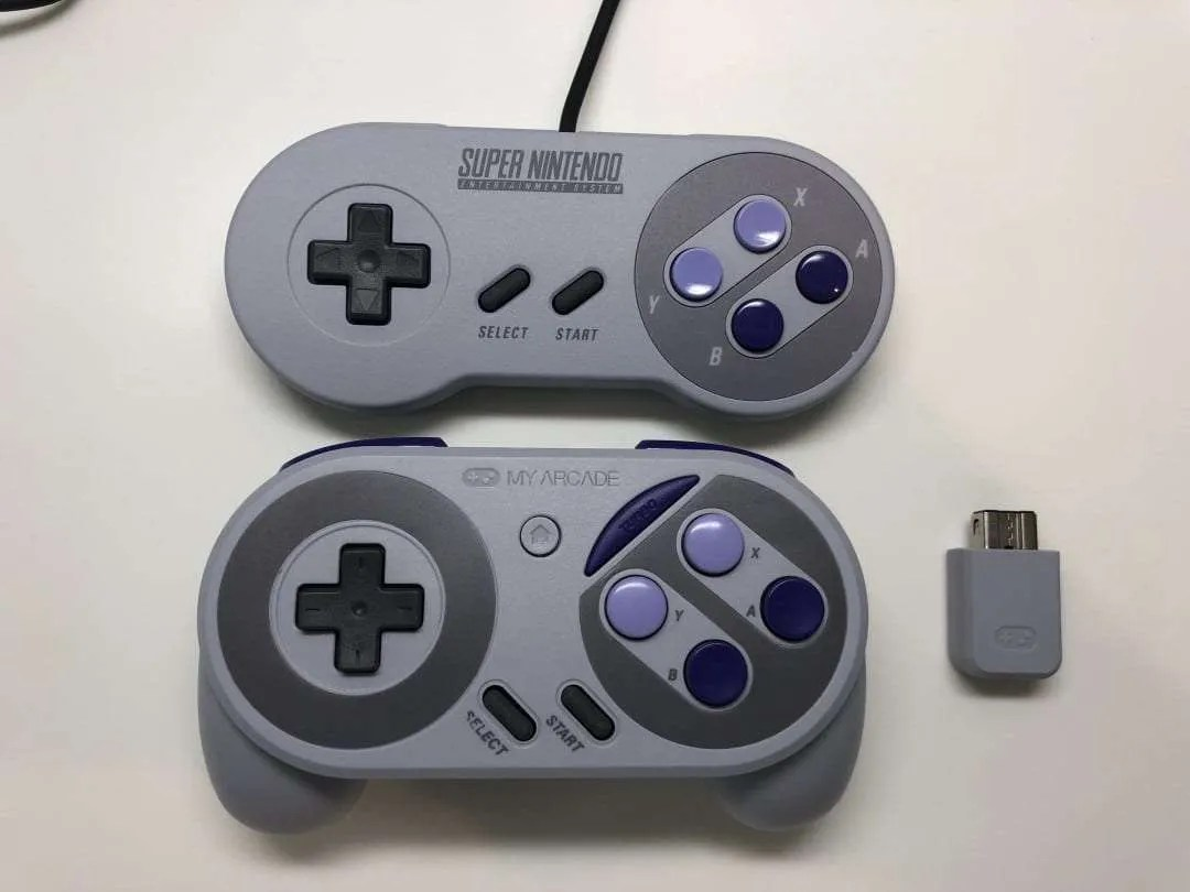 MY ARCADE Super Gamepad REVIEW Wireless Controller for SNES Classic
