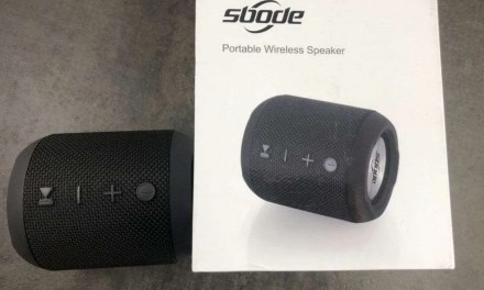 sbode Portable Wireless Speaker REVIEW Spare the pocket book but not the quality