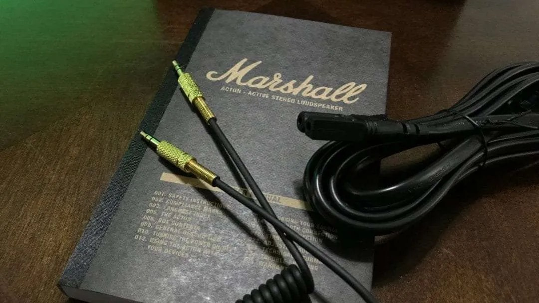 Marshall Acton Bluetooth Speaker REVIEW   Mac Sources