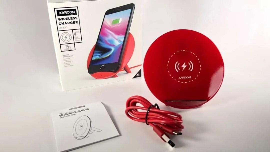 JOYROOM JR-K10 Desktop Bracket Wireless Charger REVIEW