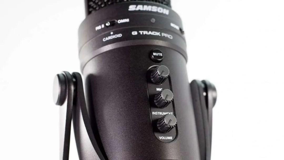 Samson G-Track Pro USB Studio Microphone REVIEW