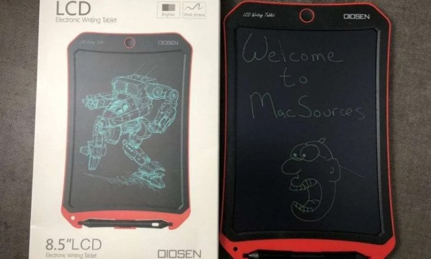 OIOSEN 8.5″ LCD Electronic Writing Tablet REVIEW Digital Dry Erase Board