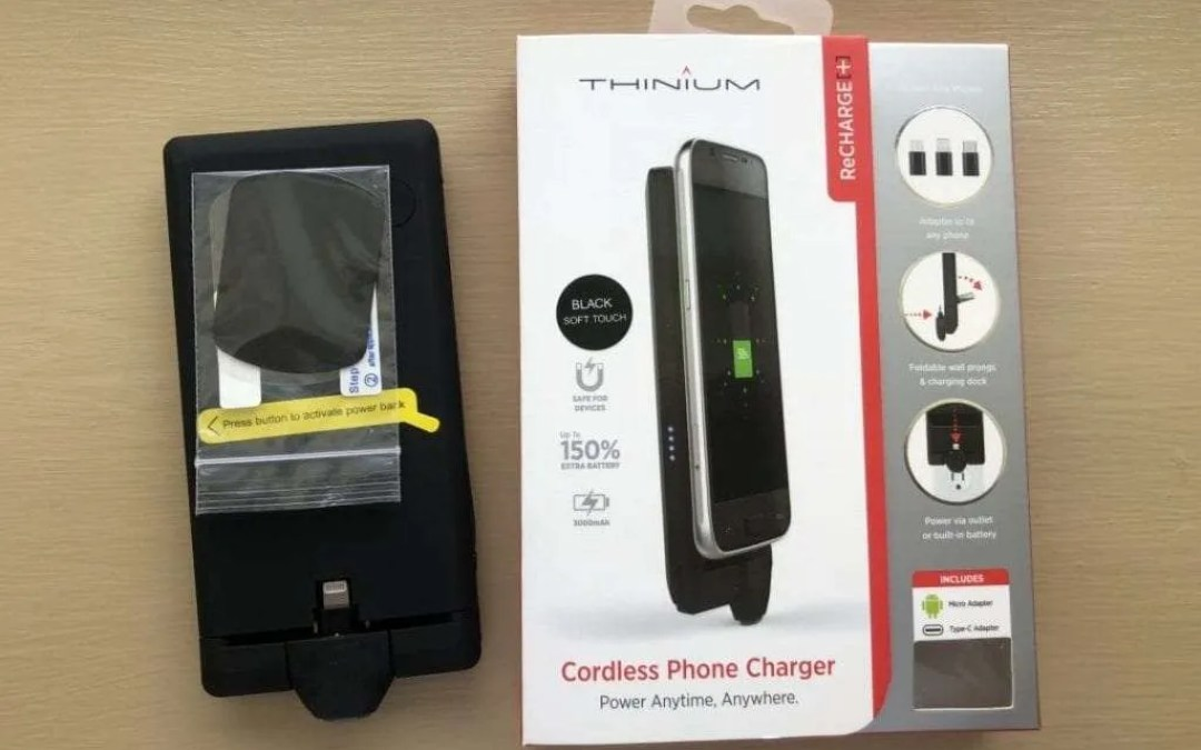 Thinium ReCHARGE Plus Cordless Phone Charger REVIEW A charger to fit your busy lifestyle