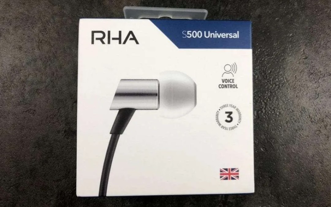 RHA S500 Wired Earphones REVIEW Lightweight comfortable and pluggable