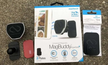 Naztech MagBuddy Anywhere Plus REVIEW Flexible and Foldable base for your car dash