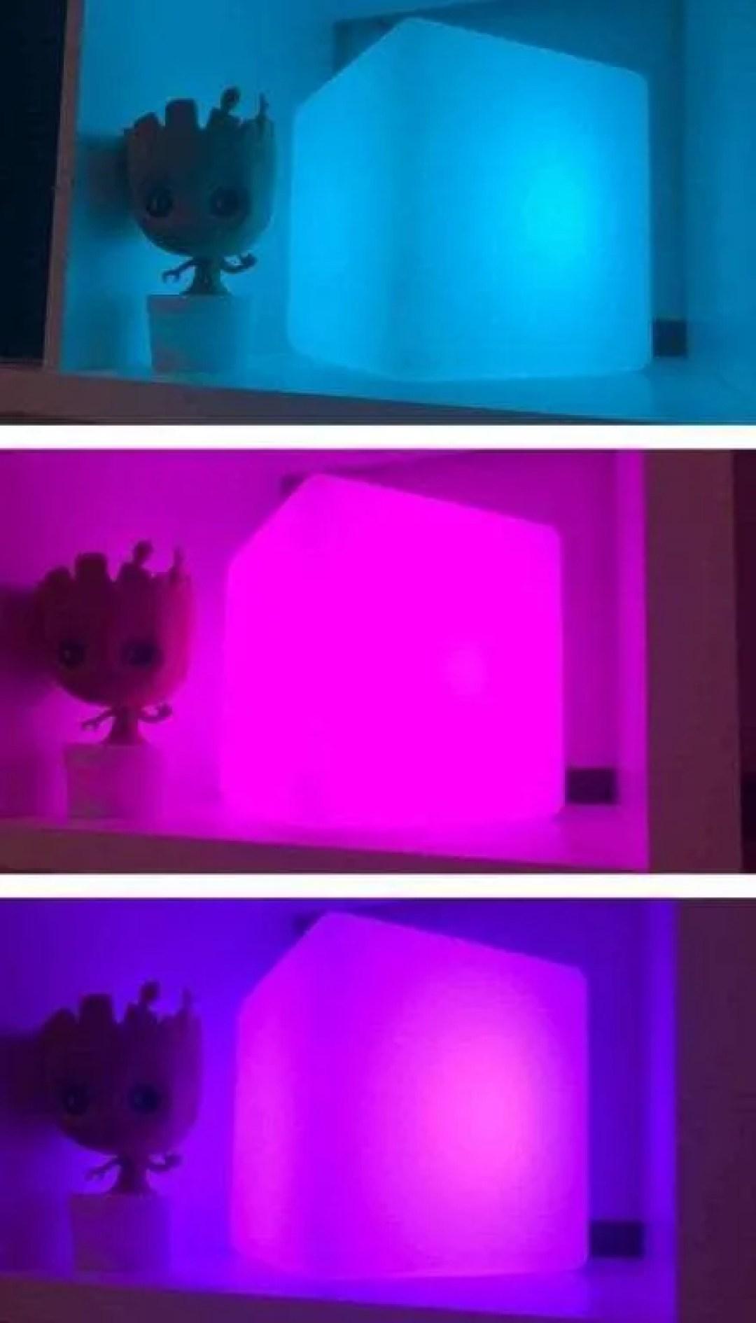 LOFTEK 8-inch LED Cube Light REVIEW