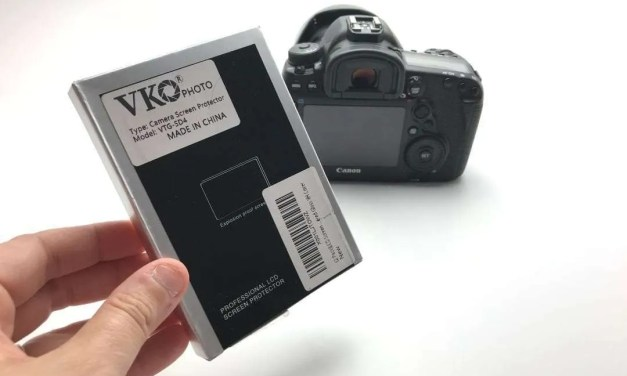 VKO Anti-Scratch Tempered Glass Cover for Canon DSLR Camera REVIEW