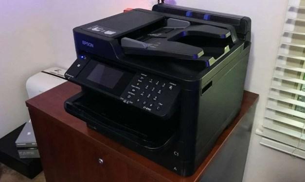 Epson WorkForce Pro ET-8700 EcoTank All-in-One Supertank Printer REVIEW