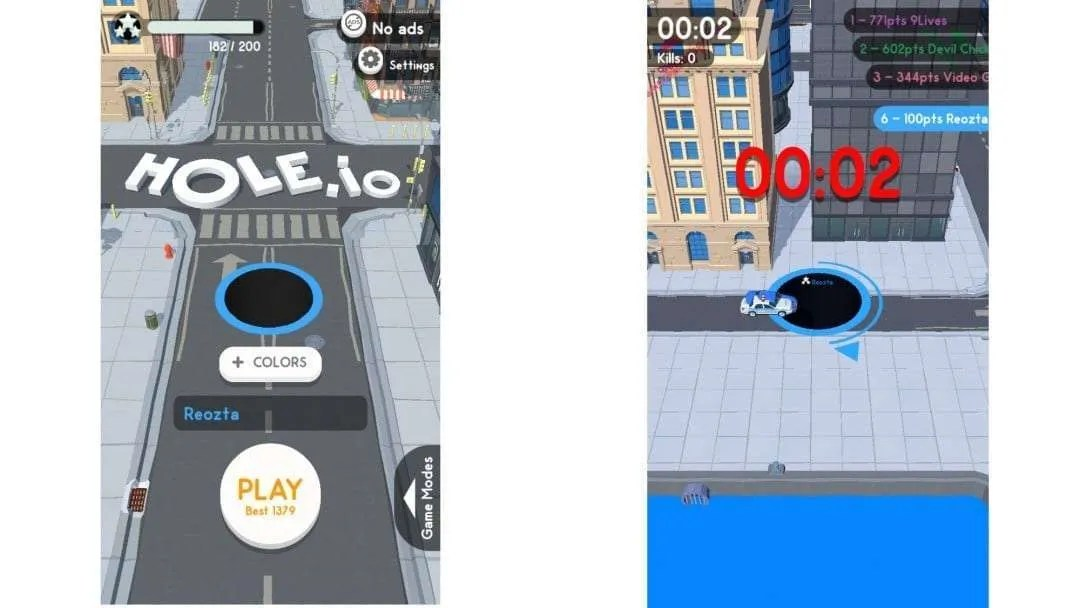 Hole.io iOS Game REVIEW