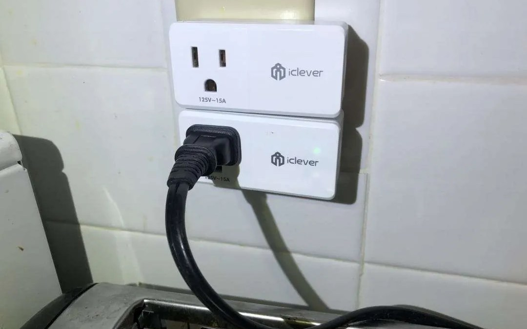 iClever BoostSmart Series AC Power Plug IC BS08 REVIEW Know for certain that your coffee pot is powered off
