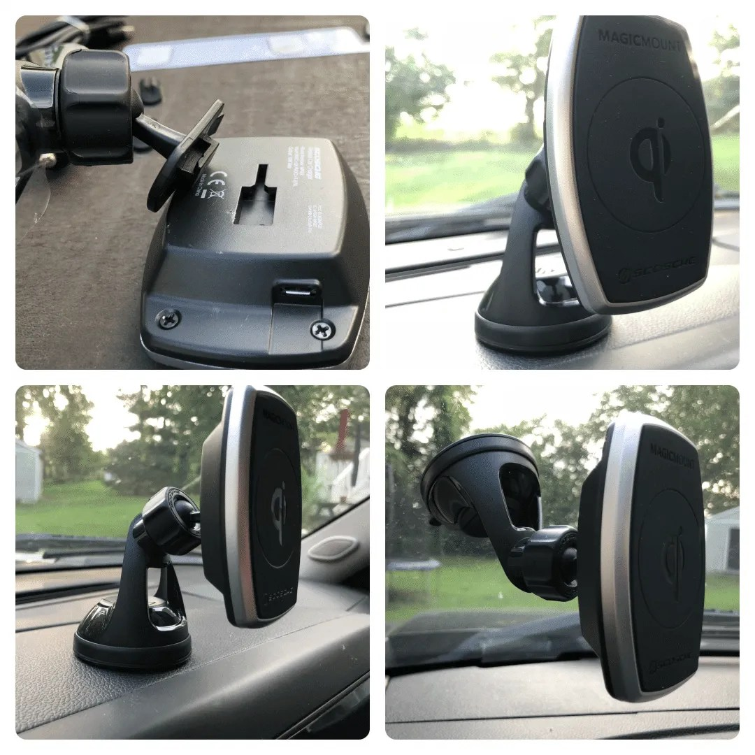 Scosche MagicMount ProCharge Window and Dash REVIEW