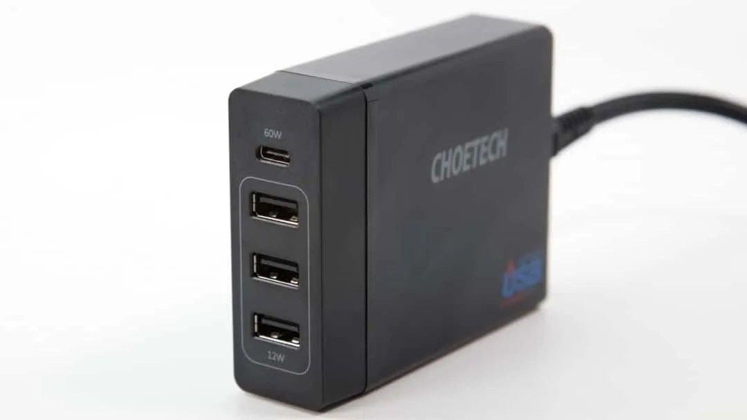 CHOETECH 72W 4-Port USB-C Charger REVIEW