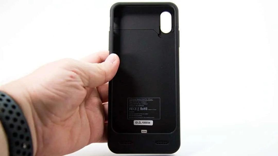 meet 6f099 8d55f ZeroLemon iPhone X Battery Case REVIEW | Mac Sources