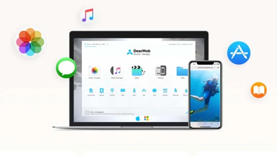 DearMob iPhone Manager – How to Backup and Restore iPhone without iTunes
