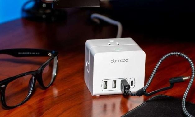 dodocool DC32 Smart 3-outlet 4-port USB Power Strip REVIEW