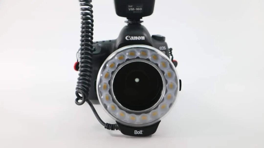Bolt VM-160 Macro Ring Light REVIEW