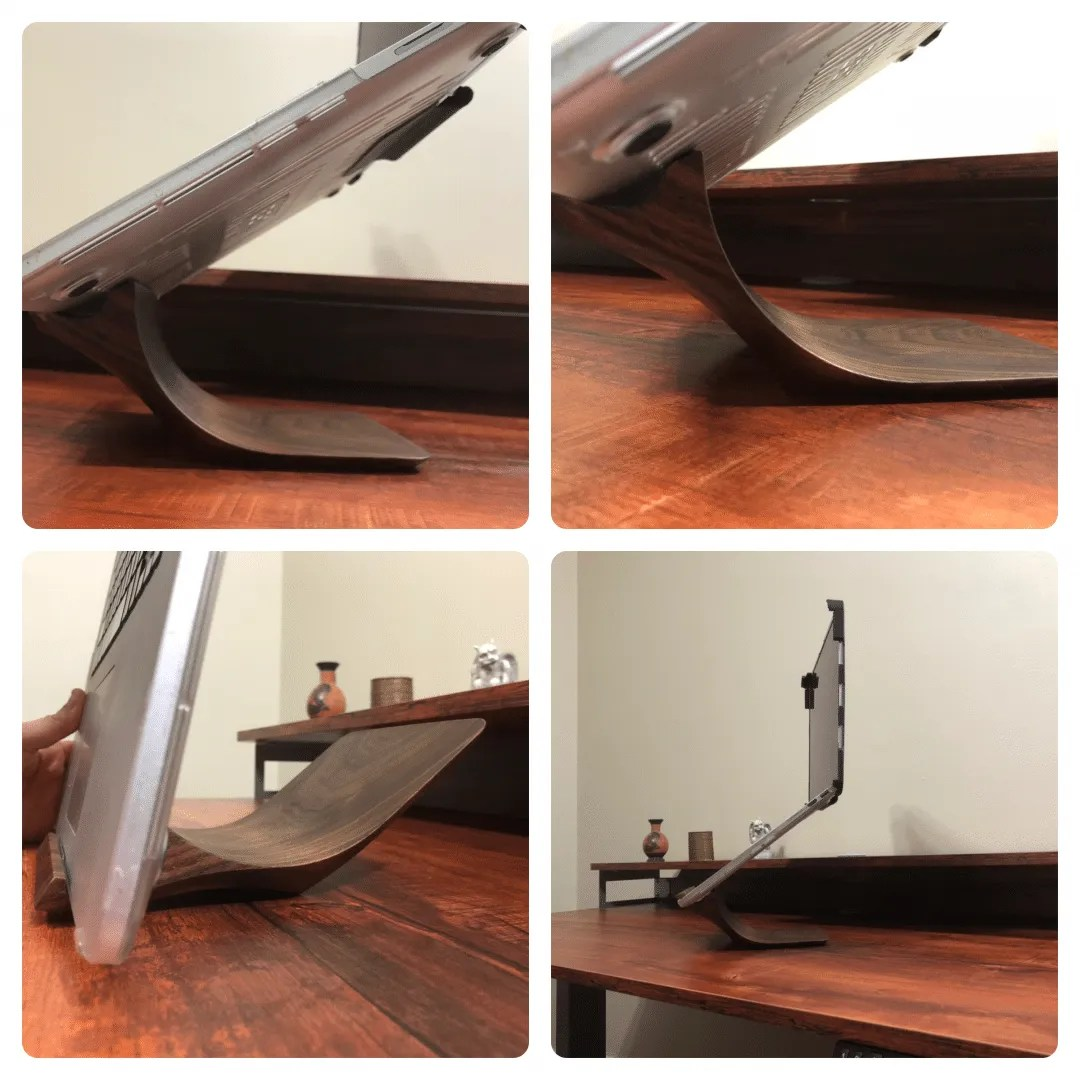 Yohann B1 Walnut Stand for Macbook Pro REVIEW