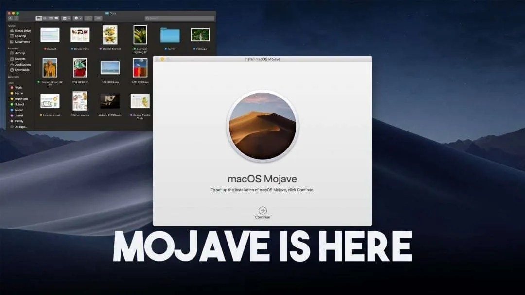 macOS Mojave is available today NEWS