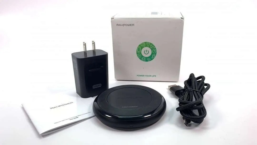 RAVPower Alpha Series Fast Charge Wireless Charging Pad REVIEW