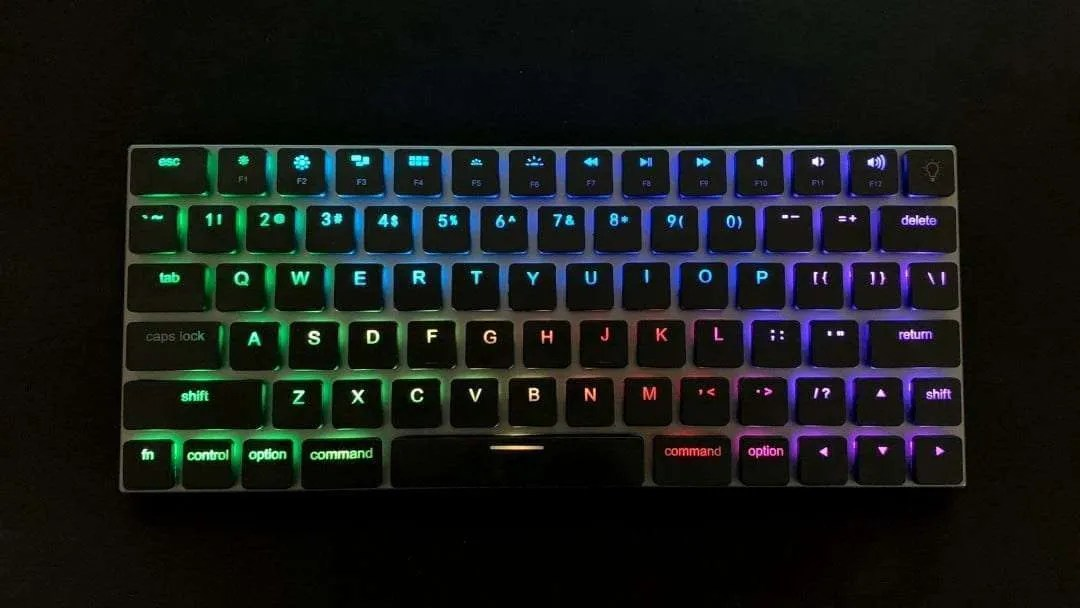vinpok taptek wireless mechanical rgb keyboard for mac review mac sources. Black Bedroom Furniture Sets. Home Design Ideas