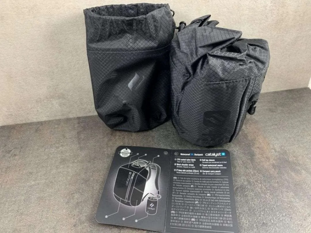 Catalyst Carry Pouch and Waterproof Bag