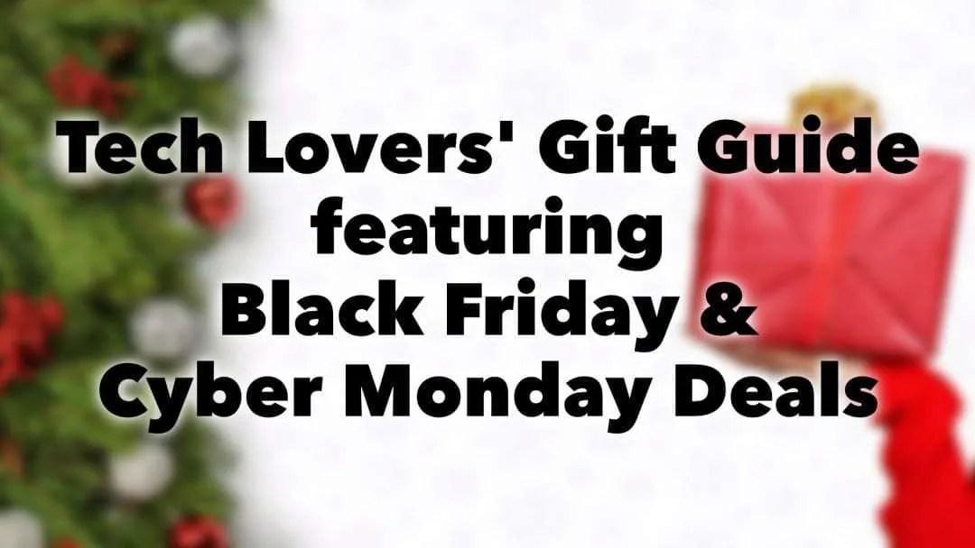 Black Friday Gift Guide 2018