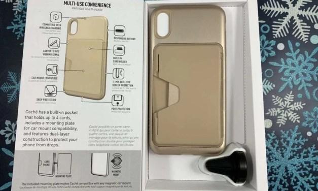 SKECH CACHÉ iPhone XS Max Case REVIEW Multi Purpose Credit Card Case