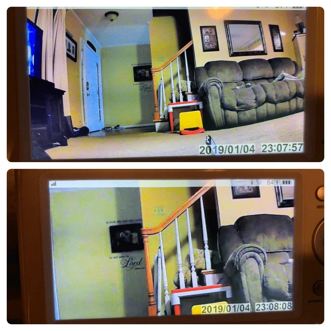 HOMIEE 720P Wireless Camera Zoom