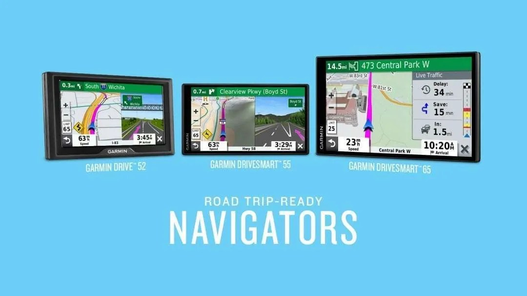 The Garmin Drive Navigators Arrive NEWS