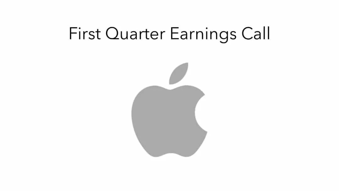 Apple Reports First Quarter Results NEWS